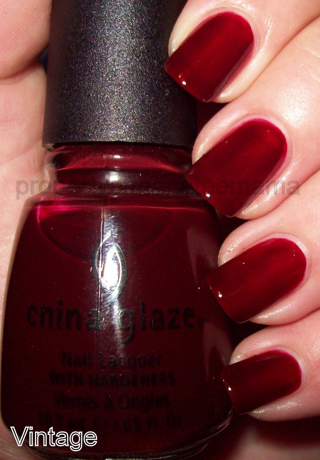 China Glaze Presenta Crakle Glaze: The Manicured Manatee: Some China Glaze Love