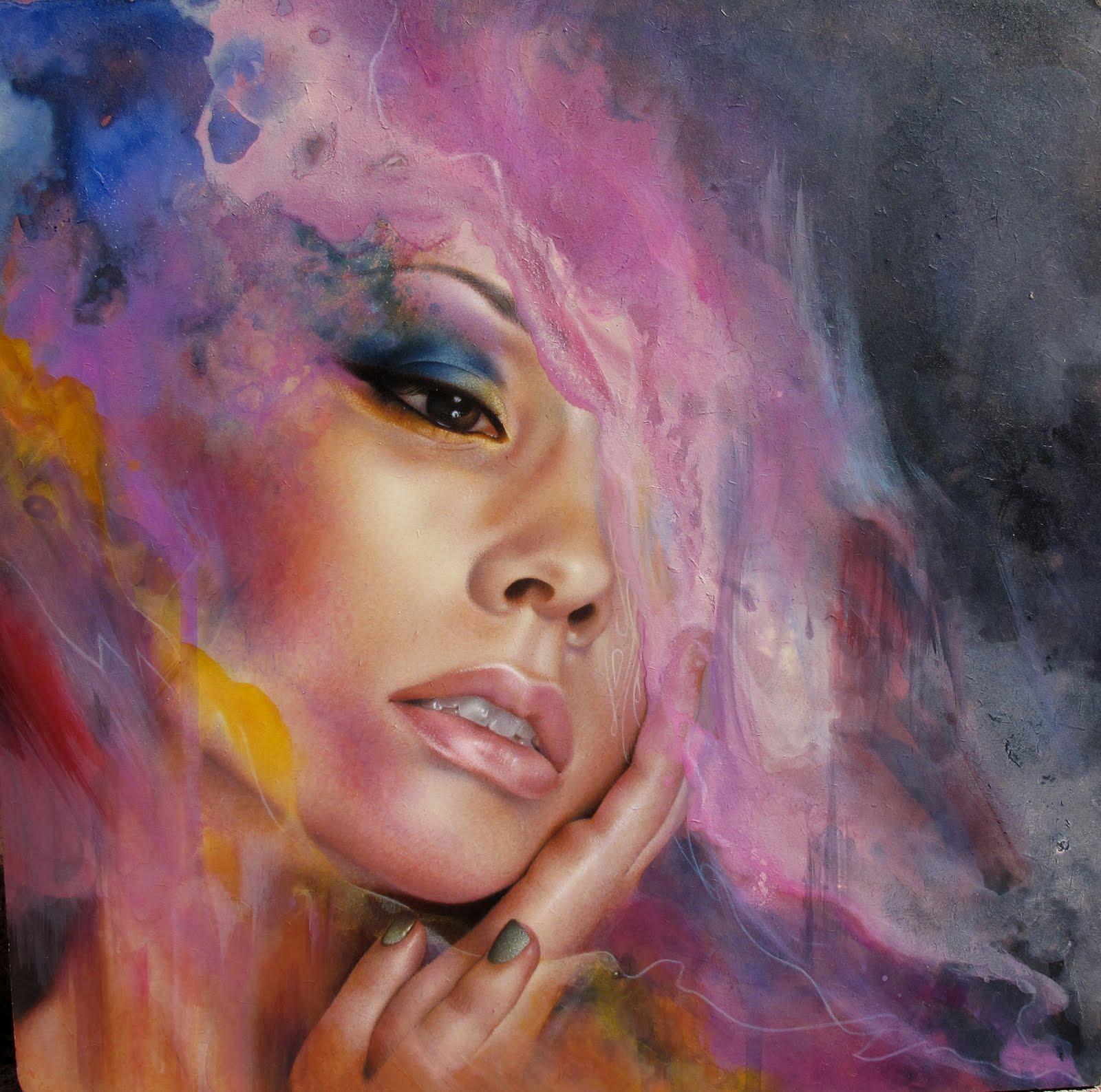 "The Artwork Of Nathan DeYoung: ""Translucent Skin"""