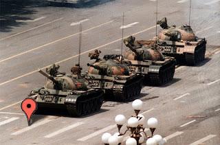 Tiananmen Square Google