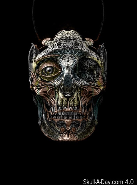 punk skull hd screenshot - photo #26