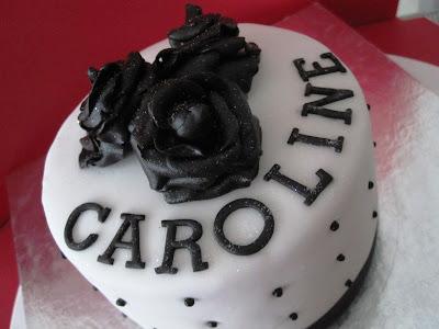 Cup Cakez Happy Birthday Caroline