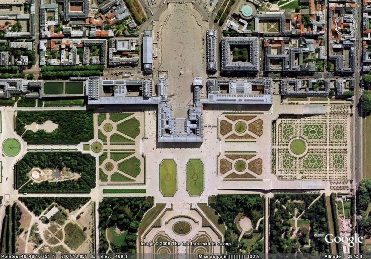 Peintures des mus es de france versailles ch teau - Jardin de versailles histoire des arts ...