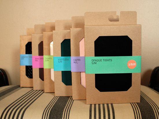 Inspired Simple Minimalist Packaging