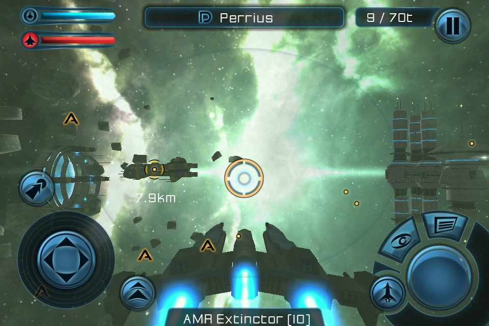 gof2 Galaxy on Fire 2 para iPhone e iPad em Outubro