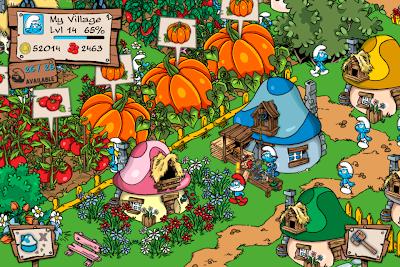 IMG_0012 'Colheita Feliz' com Smurfs e Grátis? Sim, é verdade!