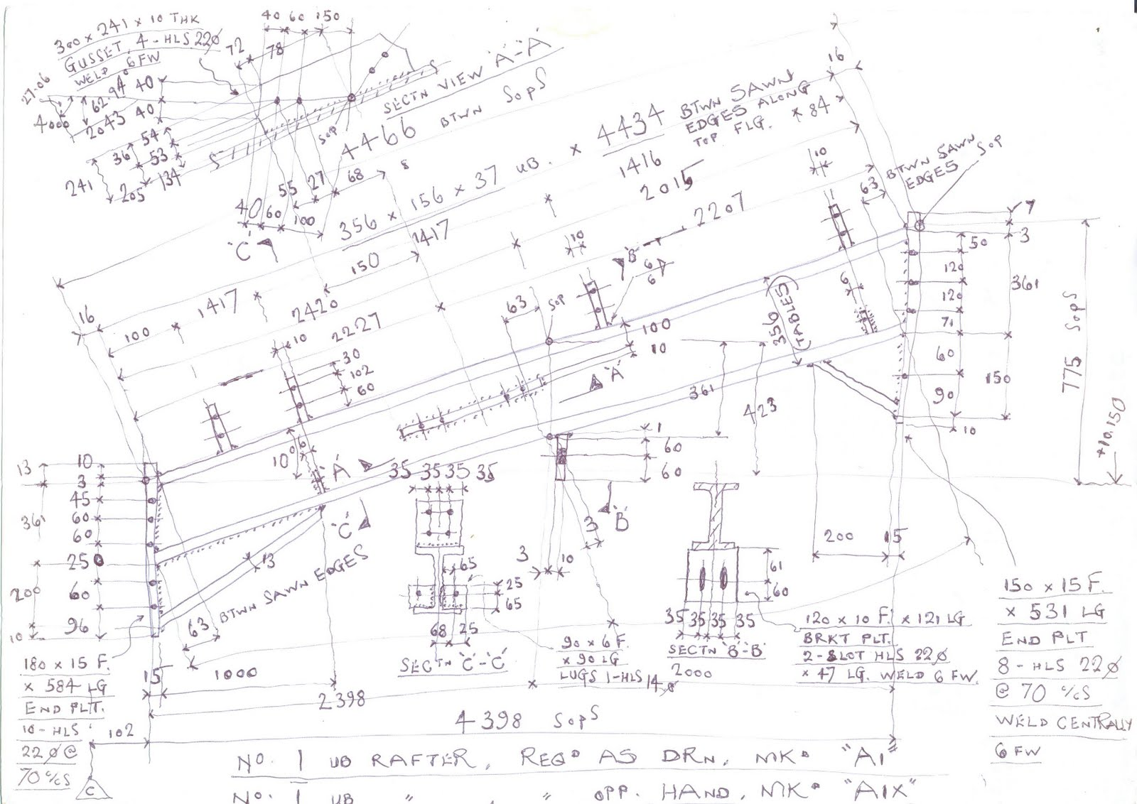 eight-one-one-seven: STEELWORK DETAIL DRAFTSMAN - 1978 - 2001