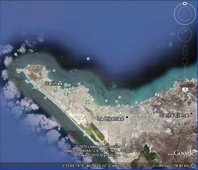 nia vip: mapas de lugares designados
