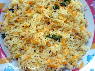 CARROT COCONUT RICE!