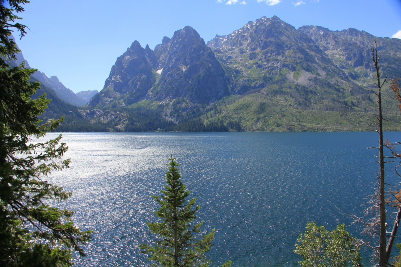 Jenny Lake at Grand Teton National Park, Wyoming. [OC ... |Jenny Lake Grand Teton National Park