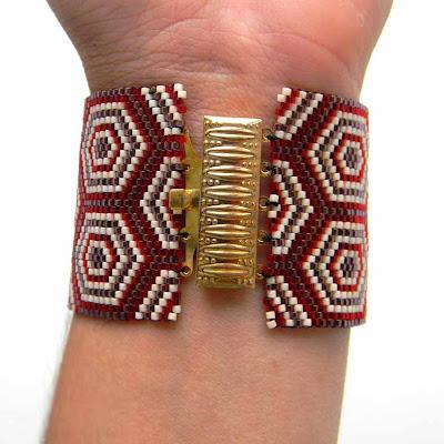 купить браслет из бисера Ураина бисероплетение блог