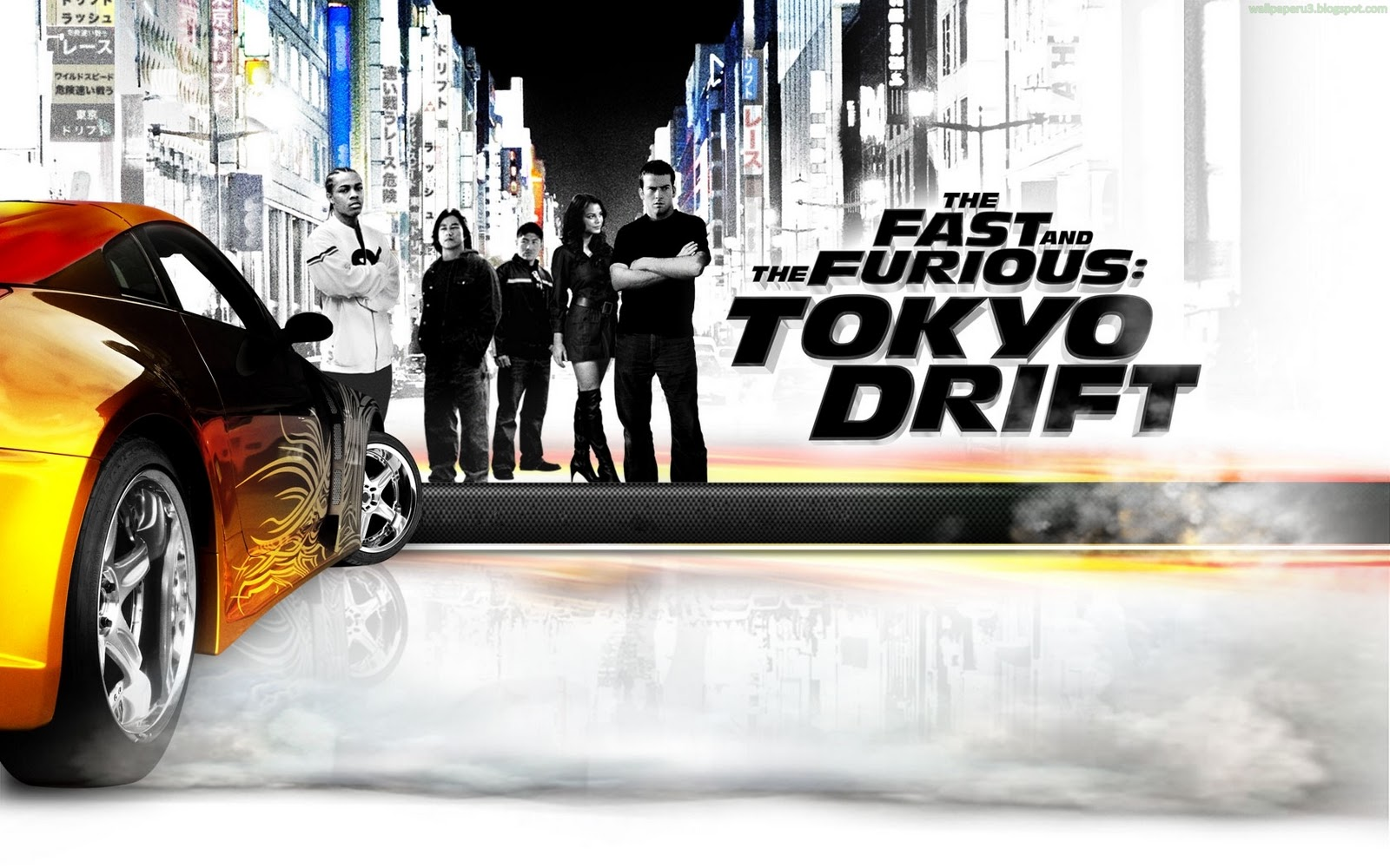 Fast and Furious Tokyo Drift Wallpapers