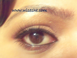 66ba443a41b How to apply fake eye lashes (video)and QVS Natural lashes review ...