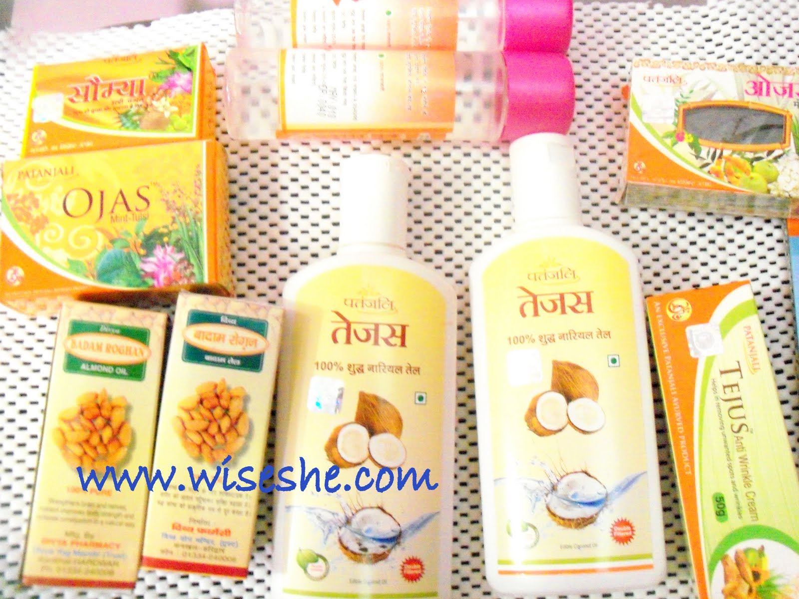 Patanjali Products Baba Ramdev Haul