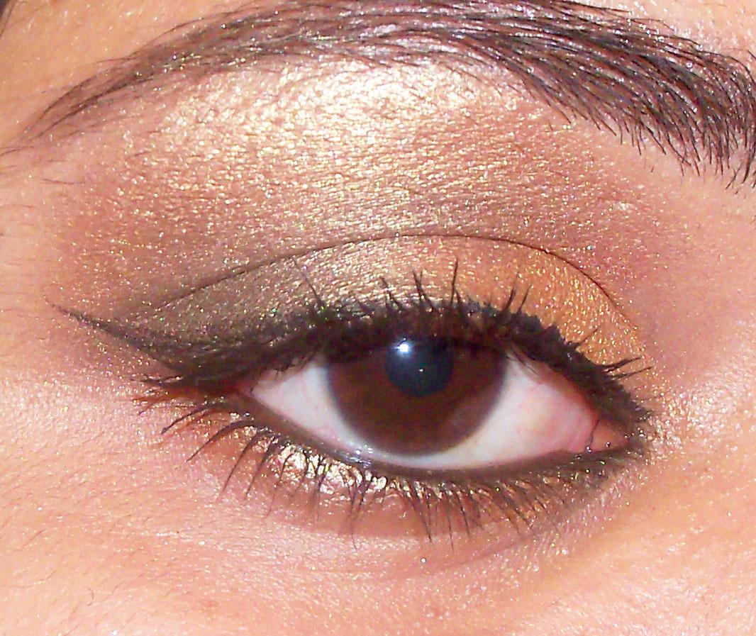 Gold And Pink Smokey Eye Makeup Indian Eye Makeup Video Wiseshe