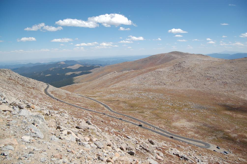 A Redleg U0026 39 S Rides  On Mount Evans With The Leading Ladies