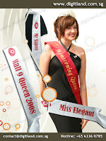 DigitLand Pageant Sash Supplier