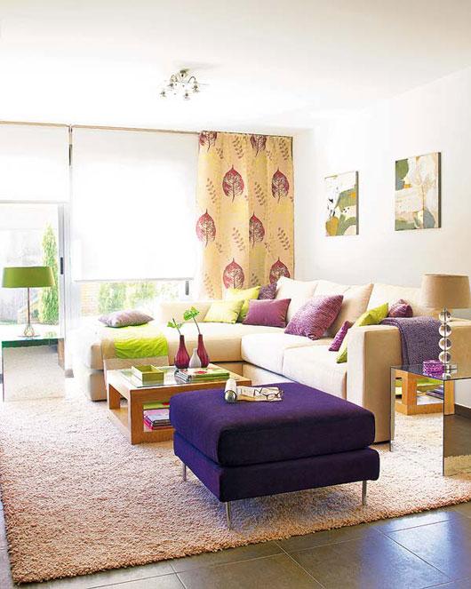 casual living room design home and interior design. Black Bedroom Furniture Sets. Home Design Ideas