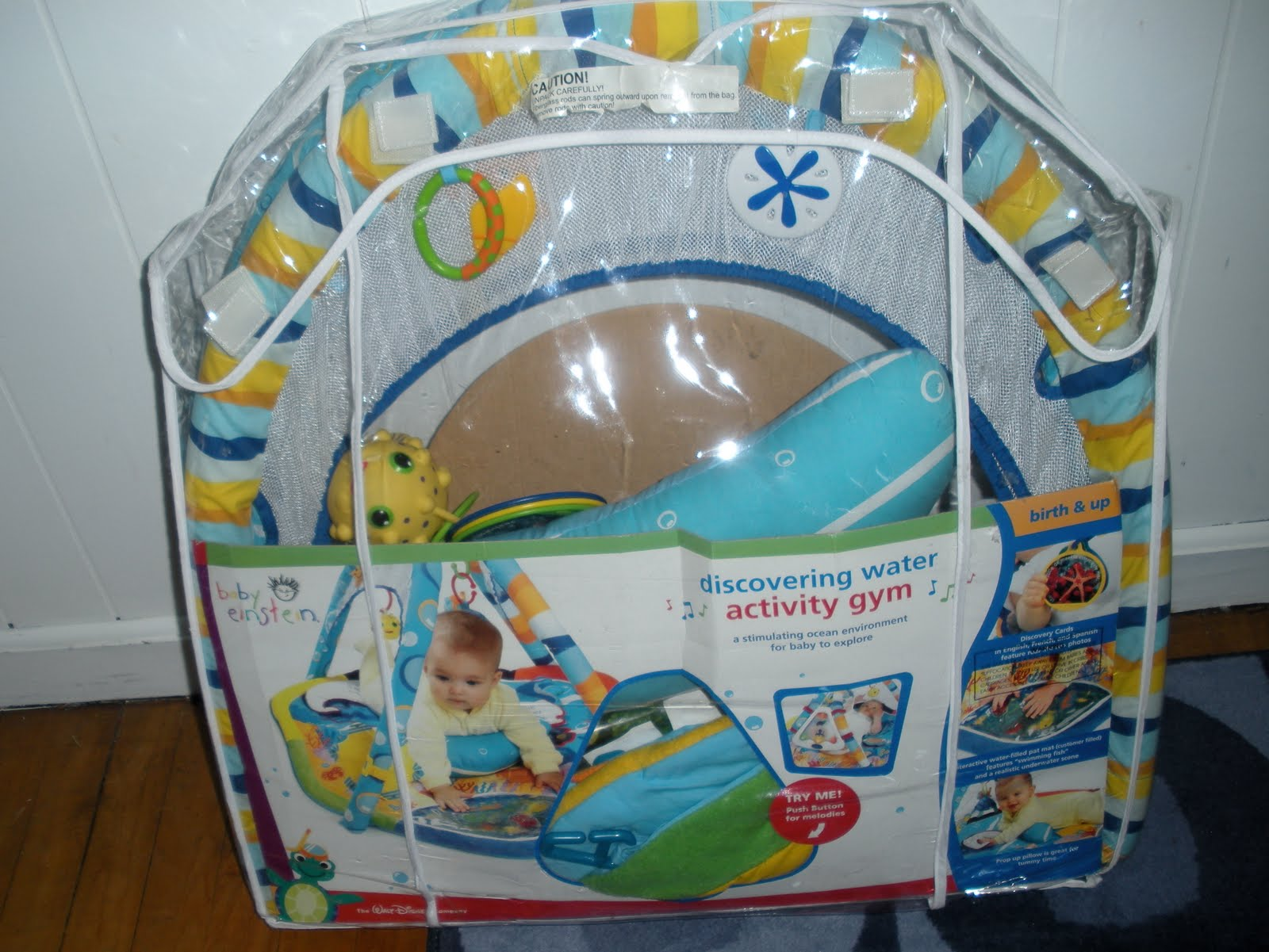 Baby Einstein 3 In 1 Jumper And Activity Mat Colors Of The Ocean Clutter Clear Out Baby Einstein Aquarium Play Gym