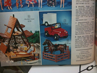 Girls Toys Dolls Barbie Accessories 1975 A Frame House