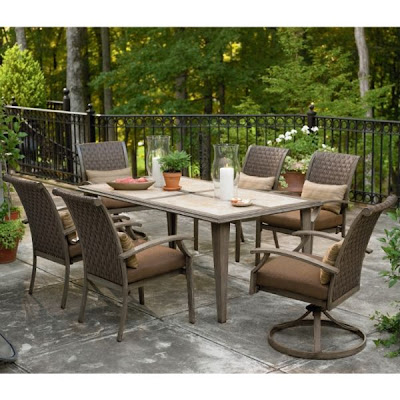 garden oasis patio chairs ergonomic chair insert furniture accent for living room