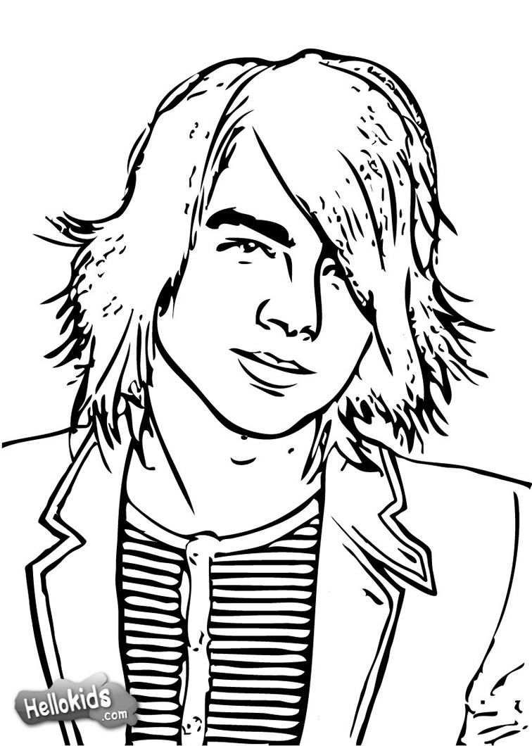 Camp Rock Coloring Pages