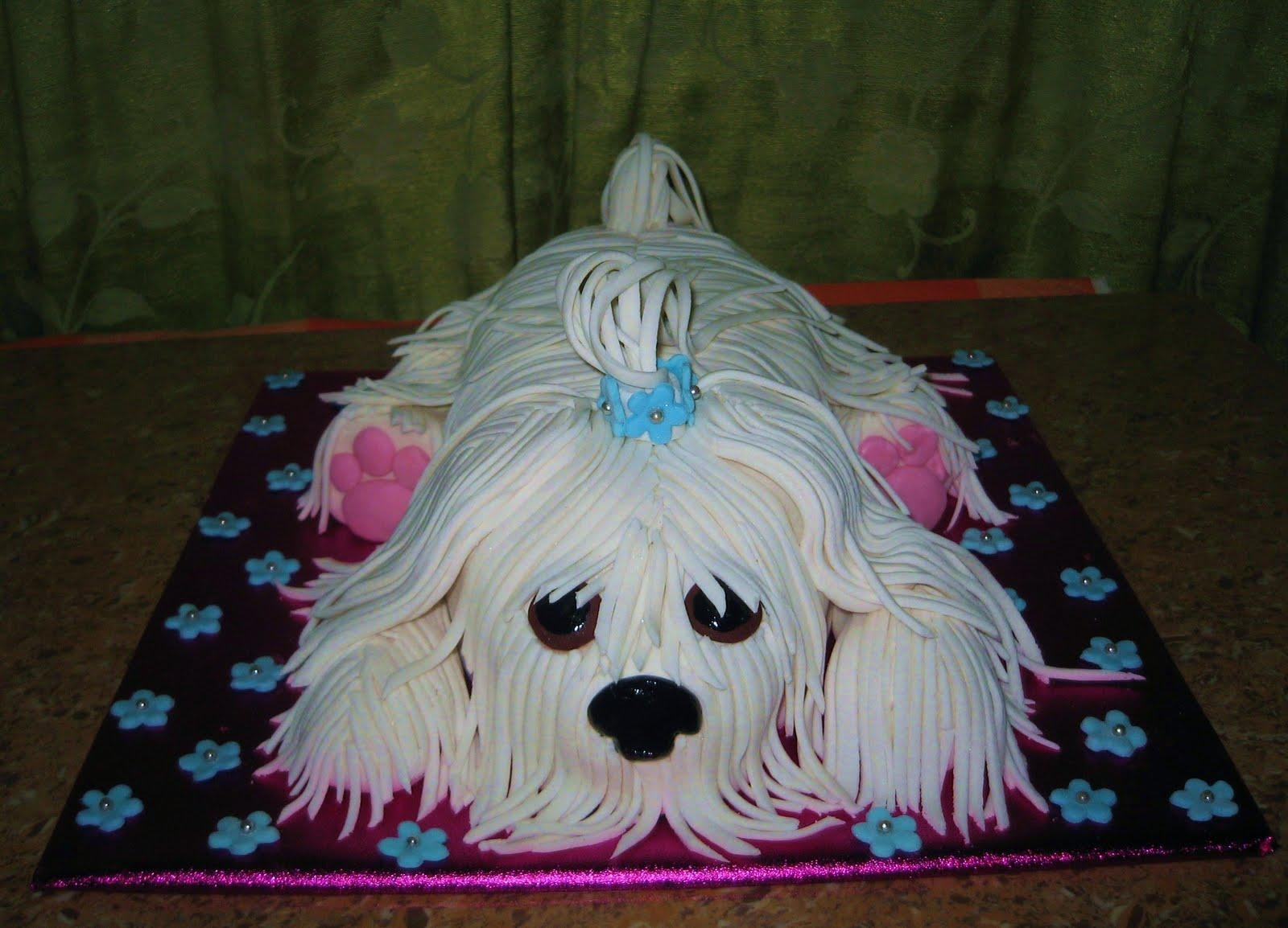 Krazzy Cakes Puppy Cake
