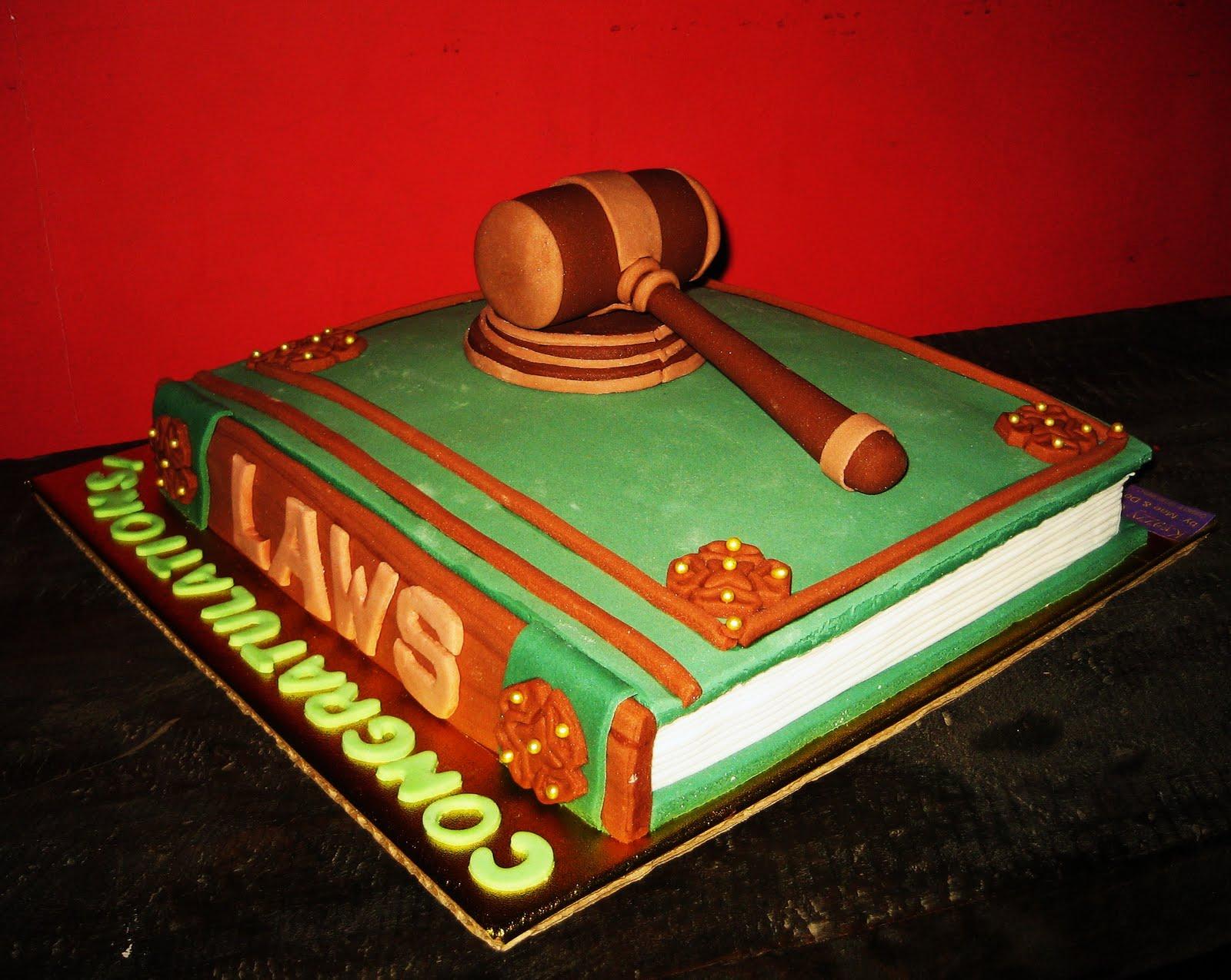 Krazzy Cakes Lawyer S Cake