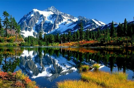 Dual Monitor Wallpaper Fall Margy S Musings Washington State
