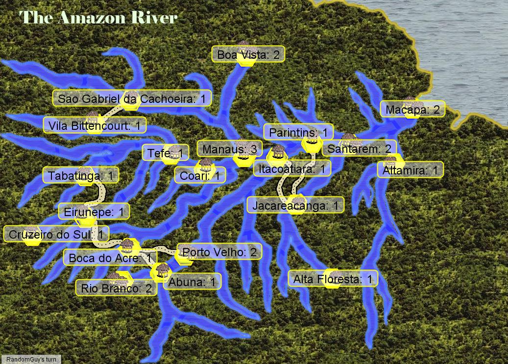 Margy's Musings: The Amazon River