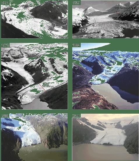 Margy S Musings Portage Glacier Alaska Global Warming