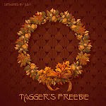 Link to Autumn Wreath Card and Freebie
