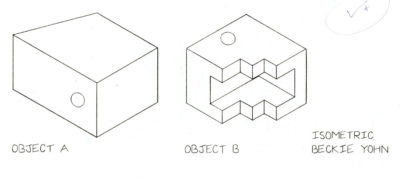bnykllr: Object A & B (Isometric)