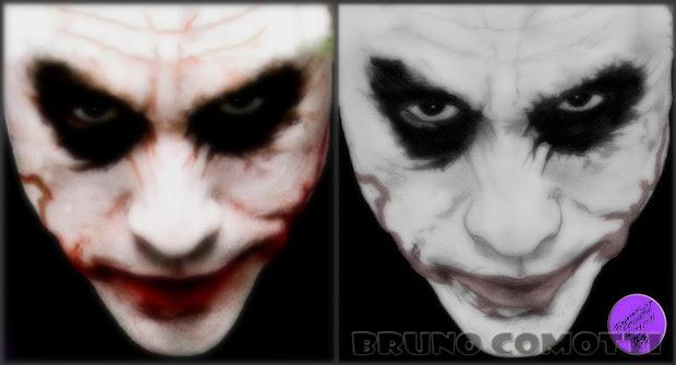 Bruno Comotti Ilustraes Retratos Parte Ix Edward Os De Tesouras Joker & Mischa Barton