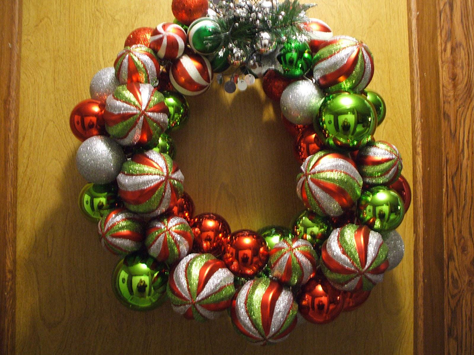 Gray Cardigan Loving Christmas Decorating