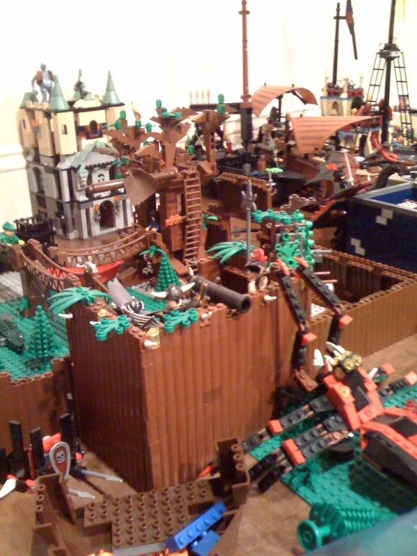 pirates of the multiverse lego fort wilderness