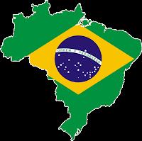 Resultado de imagem para contorno do mapa do brasil verde