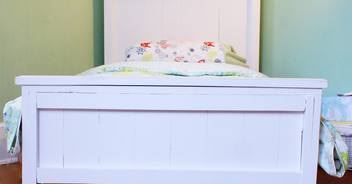 The Little Bean Sprout Farmhouse Toddler Bed Amp Duvet