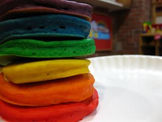 Resep Rainbow Pancake Master Chef With Salted Saus Caramel – Cara Buat Kue Pancakes