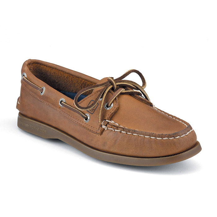 White Mountain Boat Shoes Gold