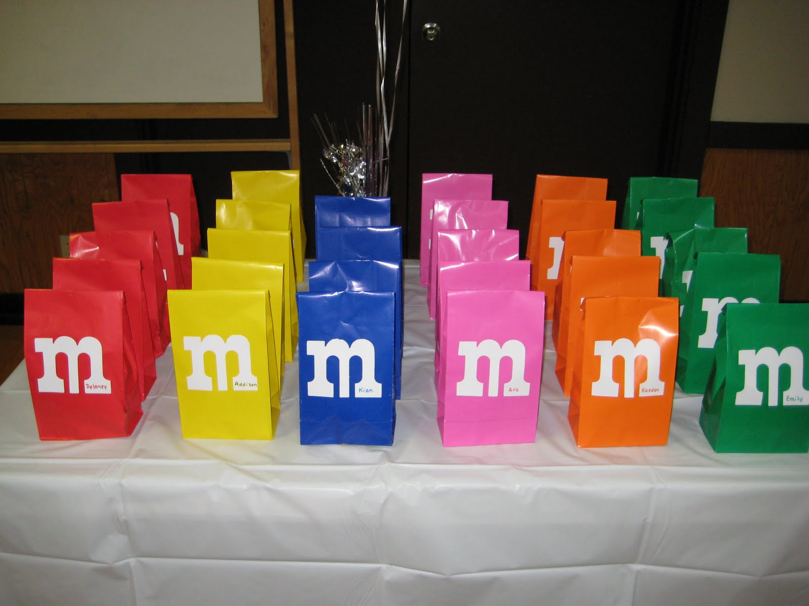 Great wedding favor idea when you are on a budget! Get M&M's with your name on it and put it in a tin! Find this Pin and more on M&M favors by Sheila and Deborah. Wedding Favors Enchanting fascinating extraordinary pictures of personalized gifts for wedding guests .