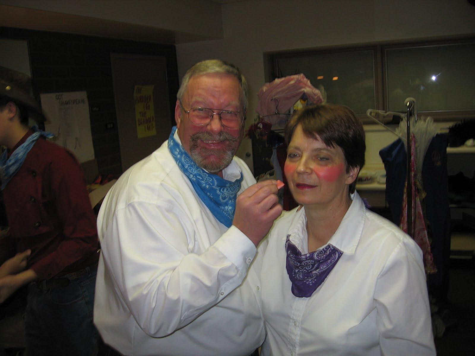 Grandpa and Grandma Larson