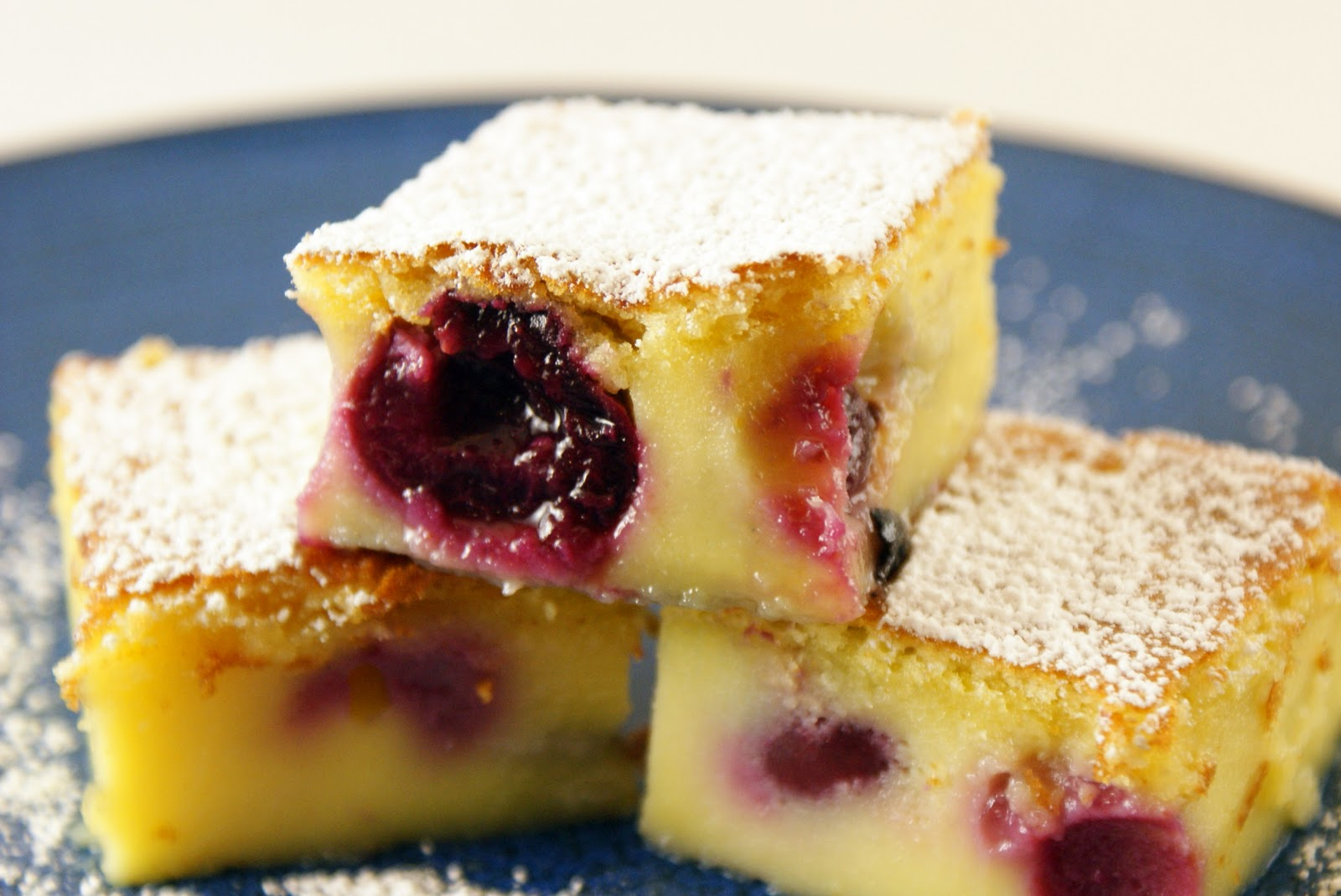 The Merlin Menu: Cherry Clafoutis
