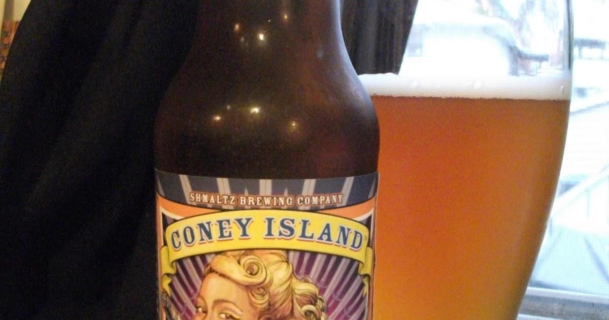 Coney Island Brewery Menu