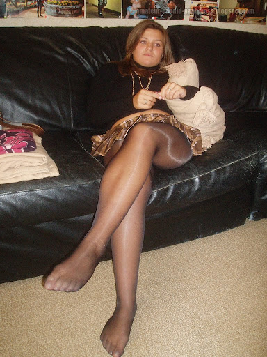 Amateur pantyhose and feet and stockings