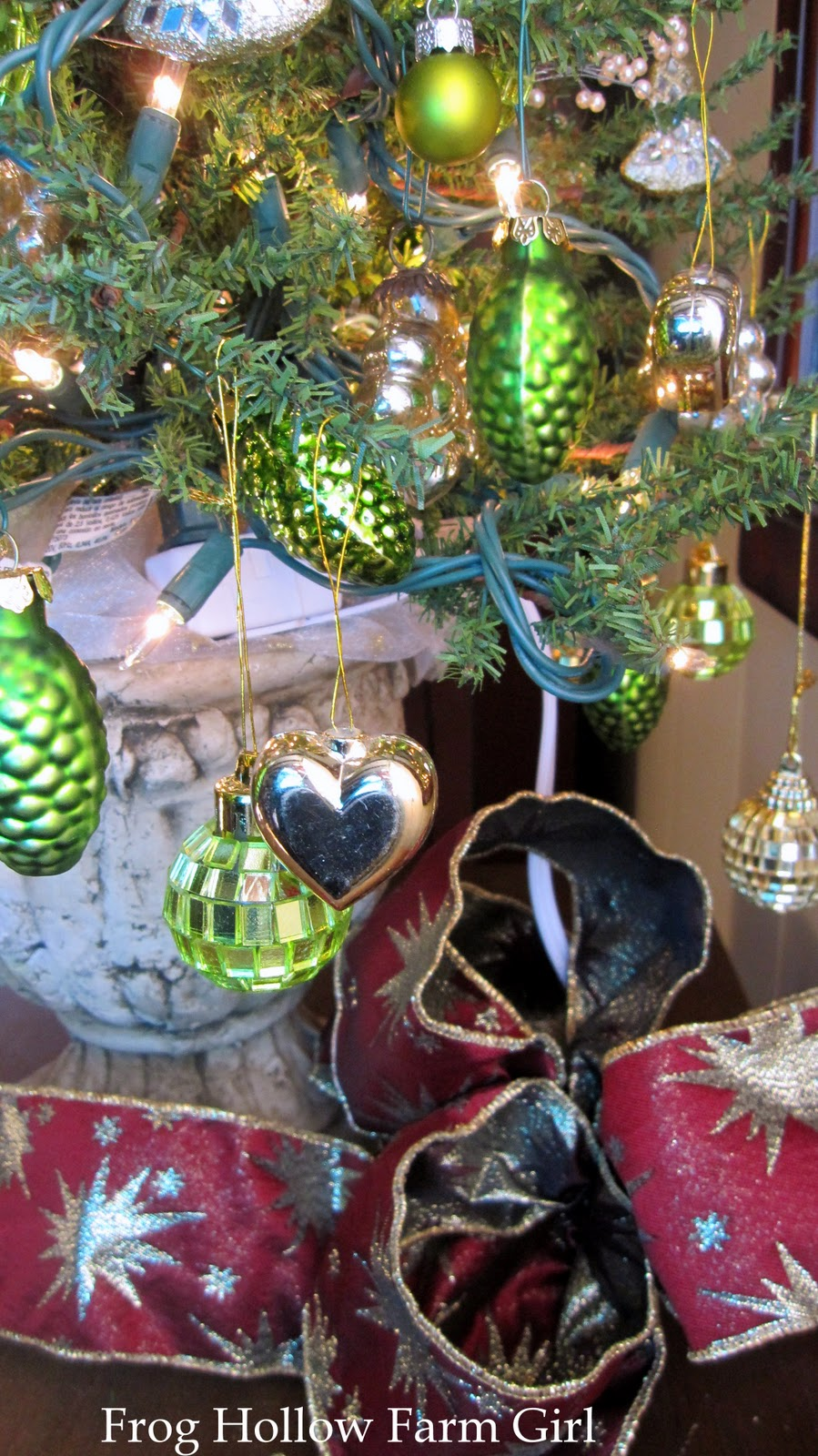 Frog Hollow Farm Girl My Irish Christmas Tree At Frog