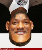 Will Smith face+upside down