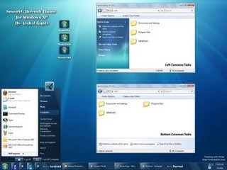 Merubah Tampilan Windows XP ke Wimdows 7