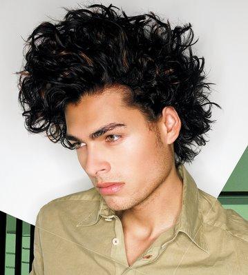 men women hairstyles wild
