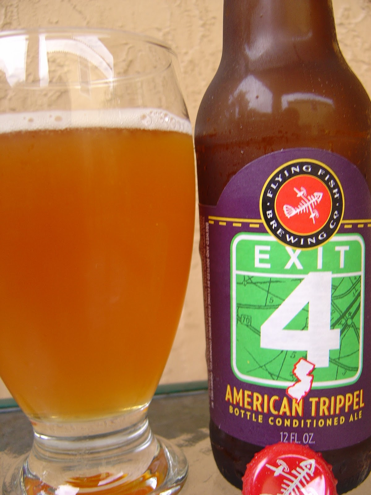 daily beer review exit 4 american trippel. Black Bedroom Furniture Sets. Home Design Ideas