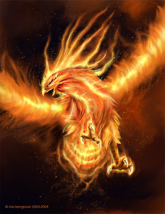Dunia Fantasi Burung Api